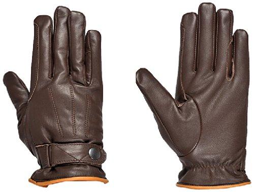 Riders Trend 10034461-CHO-M - Guantes de equitación de invierno unisex, color chocolate, talla M