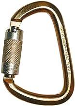WestFall Pro 7401 Steel Carabiner, 50kn (11,240lbs) Industrial Load Rated, Auto Twist Lock, ANSI Compliant