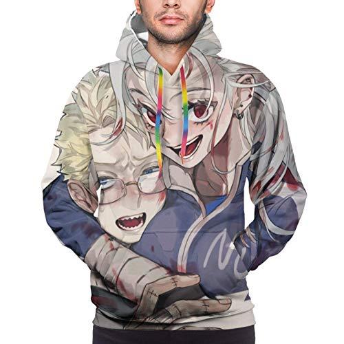 XCNGG Herren Hoodie Herren Pullover Anime Dorohedoro Mens Womens Hoodies 3D Printed Pullover Hooded Casual Funny Pullover Sweatshirt