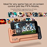 GEE·D Mobile Game Controller, Gaming Joystick for Shooting, Battle Royale, Fighting and Survival Games | Cellphone Stand Joypad for Tablets, iPhone and Android Phones (H1 Pink)