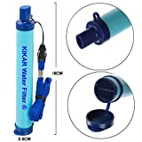 KIKAR Outdoor Water Filter Hollow Fiber Water Purifier perfect for Backpacker, Camper, Hiker or for...