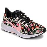 [page_title]-Nike Unisex-Kinder Air Zoom Pegasus Vintage Floral Traillaufschuhe, Mehrfarbig (Black/Pink Tint/Pale Ivory/White 1), 36 EU