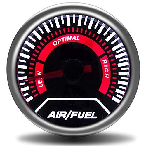 no-branded Kraftstoffanzeige 52mm Tachometer Autoladedruckanzeige Bar PSI Abgas Temp Wassertemperatur Öltemperatur Ölpresse Air Fuel Gauge CGFEUR (Color : Air Fuel Ratio, Size : Kostenlos)