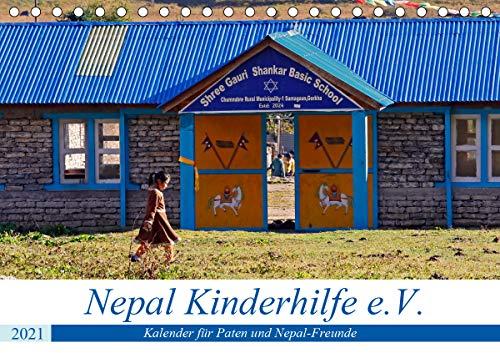 Kalender 2021 der Nepal Kinderhilfe e.V. (Tischkalender 2021 DIN A5 quer)