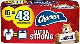 Charmin Ultra Strong Toilet Paper, 16 Triple Roll Bath Tissue = 48 Regular Rolls (B08LB71VZK) | Amazon price tracker / tracking, Amazon price history charts, Amazon price watches, Amazon price drop alerts