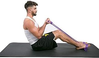 ASDHZASXC Tension band Multi-Function Elastic Pull Rope Abdomen Leg Tensioner Foot Puller Sit-Ups Four-Tube Tractor Pedal ...