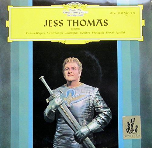 Jess Thomas, Tenor (Werke von Richard Wagner) [Vinyl LP] [Schallplatte]