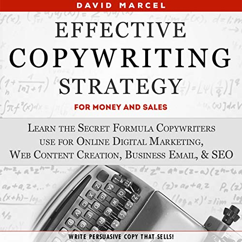 Effective Copywriting Strategy - for Money & Sales Audiobook By David Marcel cover art