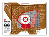 Life Size Deer Vital Organ Sight in - Paper Hunting & Shooting Targets (19'x25', 5 Pack)