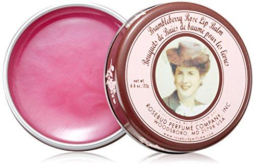 Rosebud Lip Balm, Brambleberry Rose.8 Ounce