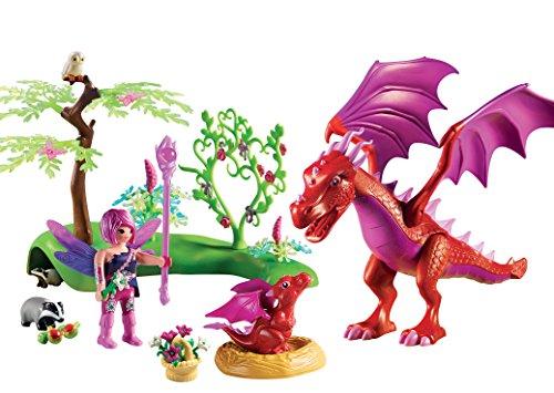 PLAYMOBIL Hadas  Dragón con Bebé única