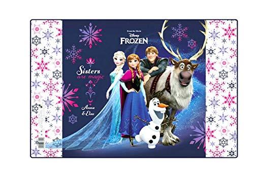 Frozen Eiskönigin ELSA Olaf SCHREIBTISCHUNTERLAGE SCHREIBUNTERLAGE TISCHUNTERLAGE UNTERLAGE inklusive Sticker von kids4shop
