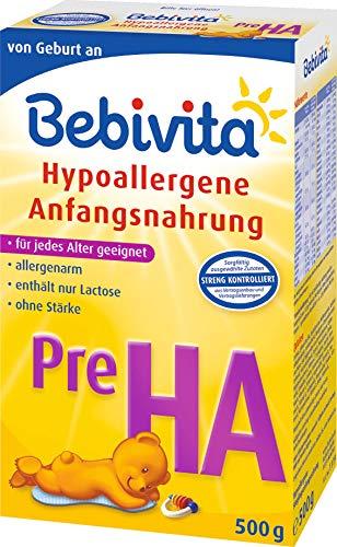 Bebivita Pre HA, hypoallergene startmelk - vanaf de geboorte, 500 g