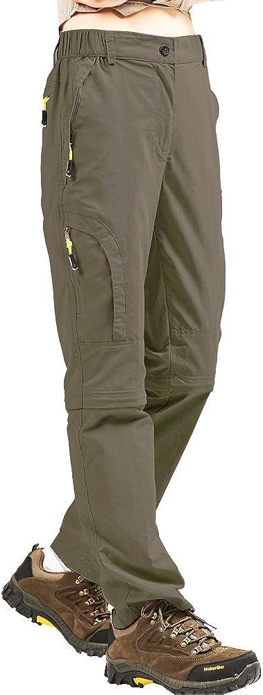 Womens Hiking Pants Convertible Quick Off Rapid rise Lightweight Ou Dry Popular popular Zip