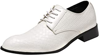 Amazon.it: Bianco Scarpe stringate basse Scarpe da uomo