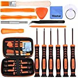 Vastar 17Pcs Triwing Screwdriver Set for Nintendo - Full Professional Screwdriver Game Bit Repair Tool Kit...