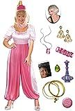 Jeannie The Genie Plus Size Halloween Costume Deluxe Wig Kit 0X/XL