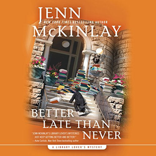Better Late Than Never                   By:                                                                                                                                 Jenn McKinlay                               Narrated by:                                                                                                                                 Allyson Ryan                      Length: 7 hrs and 12 mins     132 ratings     Overall 4.5