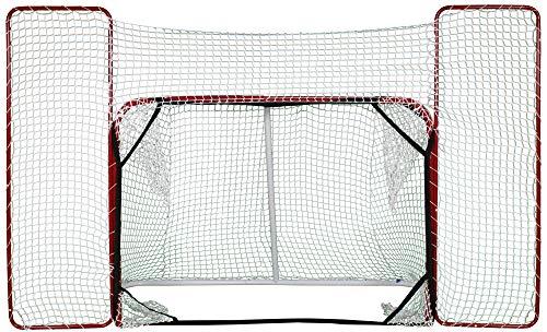 Merco Hockeytor Target klappbar, mit Seitennetz