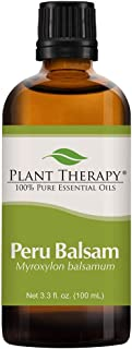 Plant Therapy Peru Balsam Essential Oil 100 mL (3.3 oz) 100% Pure, Undiluted, Therapeutic Grade