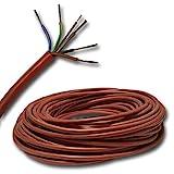 3 metros de cable de silicona para su sauna ? SIHF 5 x 2,5 mm² 3 m
