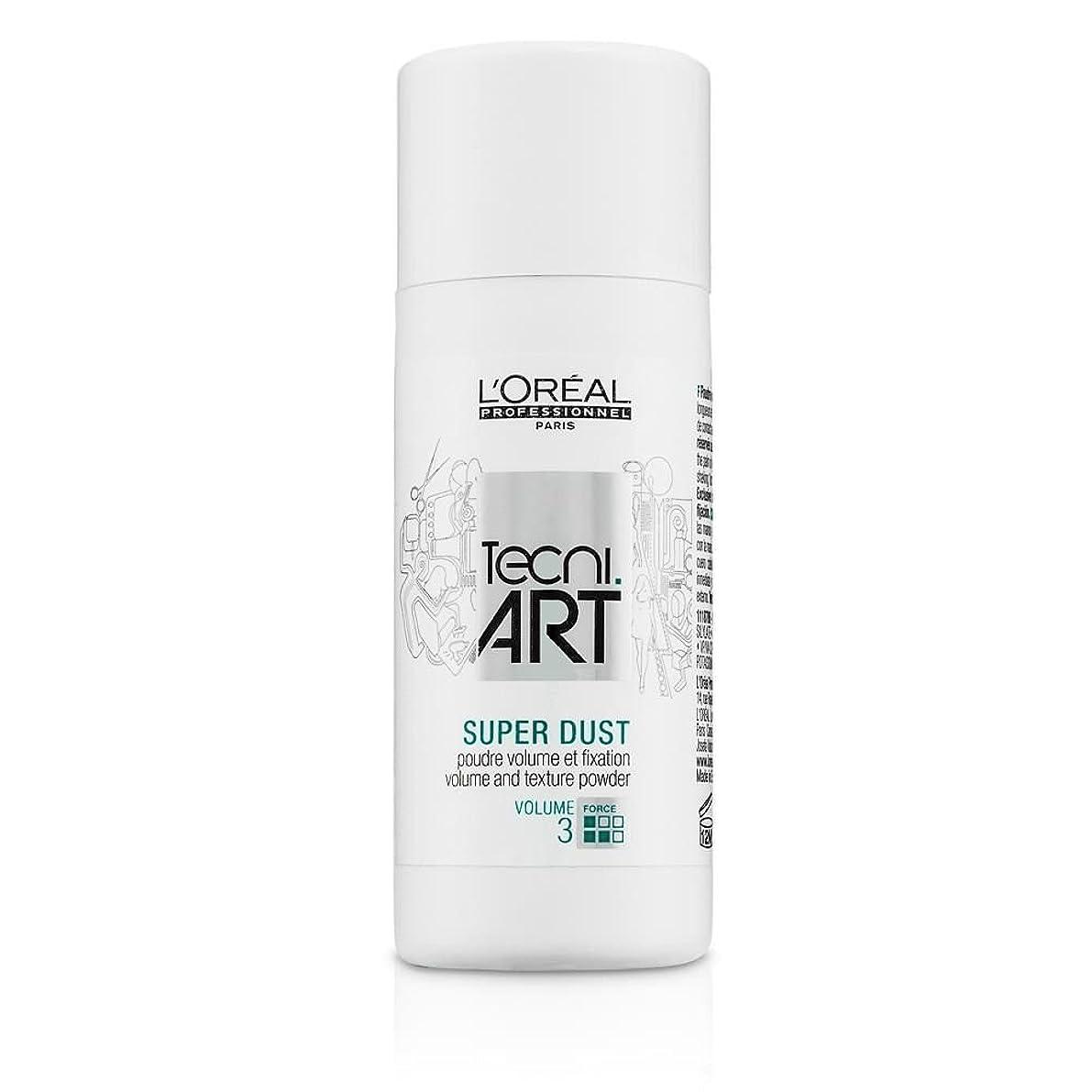 独立したレジデンス地図L'Oreal Tecni Art Super Dust - Volume And Texture Powder 7g [並行輸入品]