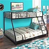 Best Twin Over Queen Bunk Bed - Nadim Handicraft Metal Twin Over Full Bunk Bed Review