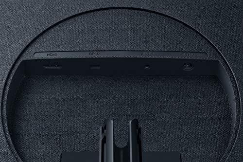 Samsung 32-Inch UR590C UHD 4K Curved Gaming Monitor (LU32R590CWNXZA) – 60Hz Refresh, Widescreen Computer Monitor, 3840 x 2160p Resolution, 4ms Response, Game Mode, HDMI, Dark Blue Gray