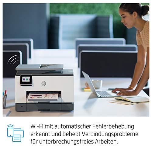HP OfficeJet Pro 9020 Multifunktionsdrucker (HP Instant Ink, A4, Drucker, Scanner, Kopierer, Fax, WLAN, LAN, Duplex, HP ePrint, Airprint, mit 6 Probemonat HP Instant Ink inklusive) Basalt