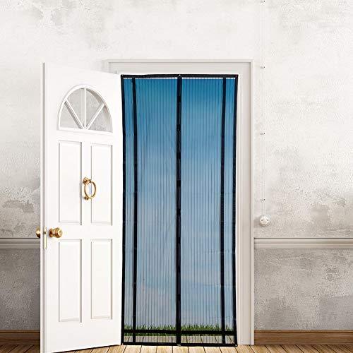 Sommerhaus Anti-Moskitonetz Fliege Tür Vorhang nach Hause Schlafzimmer Dekorationen Sommer magnetisches Moskitonetz Netz Vorhang A1 B80xH210