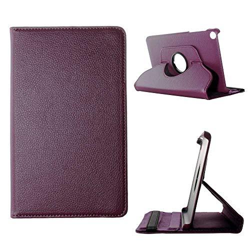 Todobarato24h Funda Tablet Compatible con BQ Aquaris M8 (8) giratoria 360º Morada