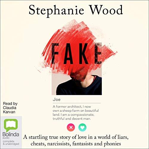 Fake audiobook cover art