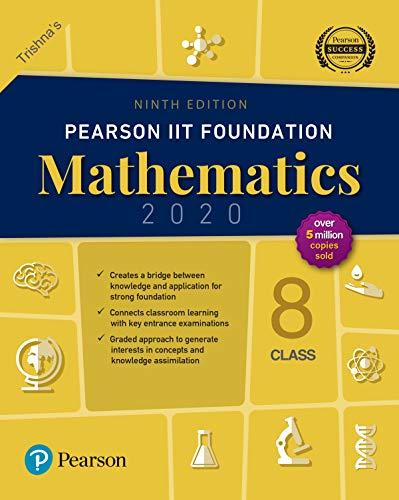 Pearson IIT Foundation Series Mathematics (2020) class 8