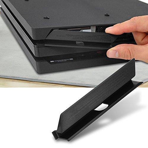 yuyte HDD Hard Drive Slot Cover, Deur Flap voor PS4 Pro Zwart Kunststof HDD Hard Drive Slot Cover Deur Flap voor PS4 Pro Console