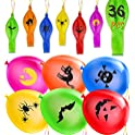 36-Pack Soofun 15 Inch Halloween Balloons Decoration Party Favors