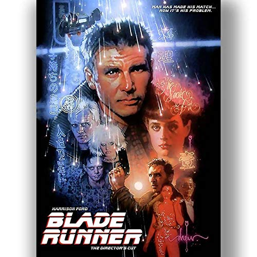BLADERUNNER MOVIE POSTER PRINT IMAGE CLASSIC A3 A4 SIZE
