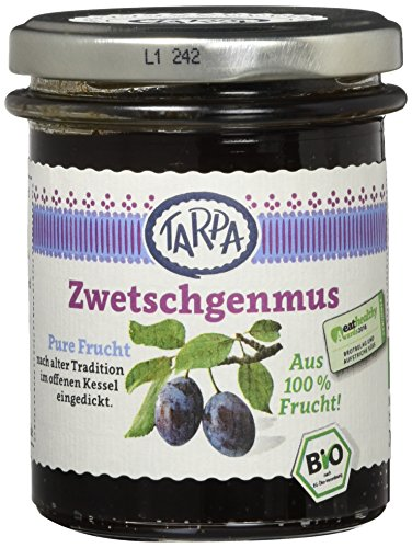 Tarpa Bio Zwetschgenmus, 3er Pack (3 x 220 g)