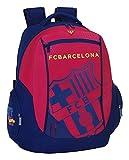 Safta 077067 F.C. Barcelona Mochila Tipo Casual, Color Azul y Granate