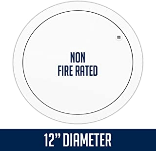 FLIPFIX Metal Faced Circular Access Panel with Picture Frame - Non Fire Rated 12
