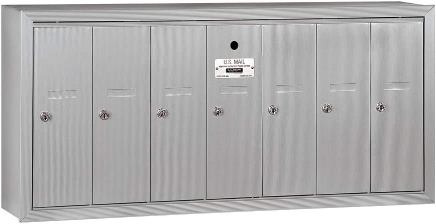 Salsbury Tulsa Mall Industries 100% quality warranty 3507ASU Surface Mailbox wit Vertical Mounted