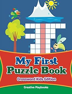 My First Puzzle Book - Crossword Kids Edition