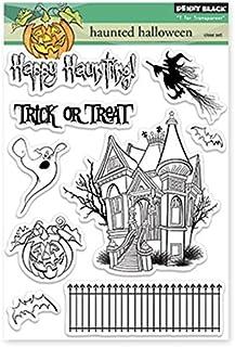 Penny Black 30-184 Hunted Halloween Transparent Stamps