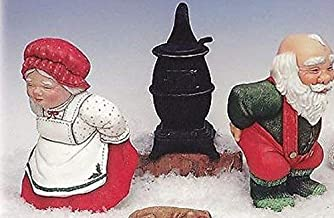 Bun Warmer Santa & Mrs Claus Ready to Paint Ceramic Bisque - Made in the USA