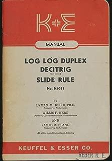 Best log log duplex decitrig slide rule Reviews
