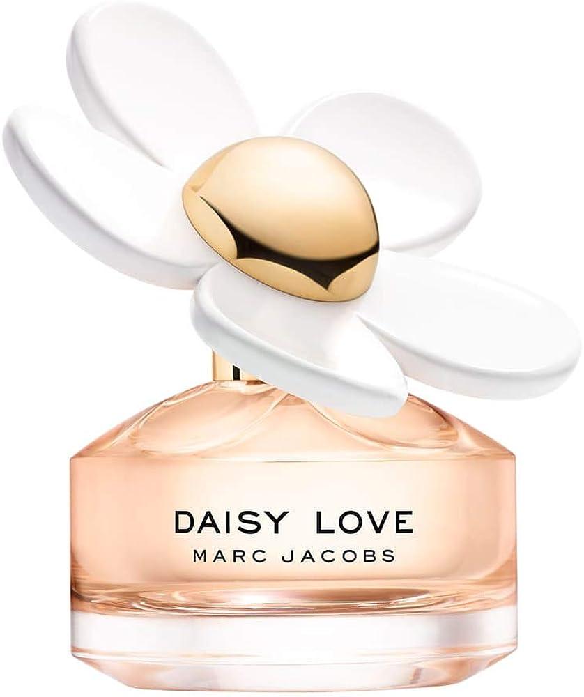 Marc jacobs daisy love, eau de toilette,profumo per  donna, 100 ml 3614225476570