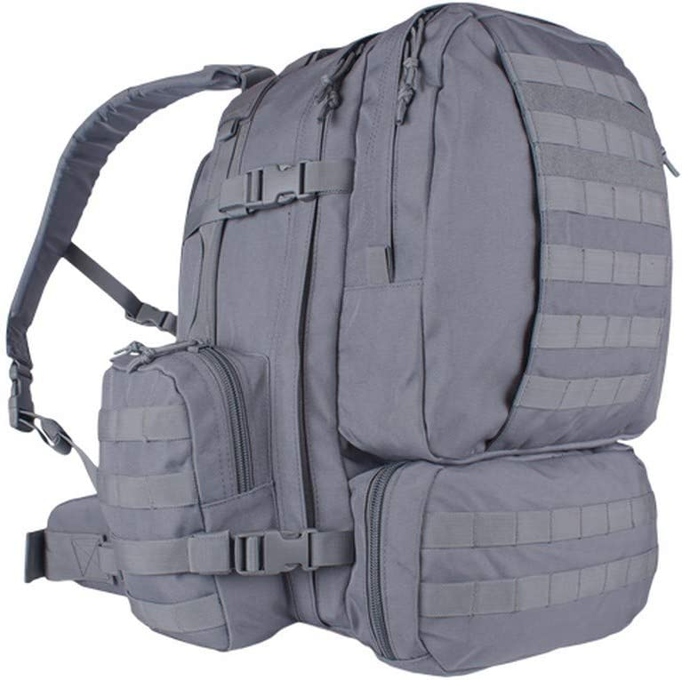 Fox Outdoor 56-4609 Wholesale Advanced 3-Day Combat Dealing full price reduction Grey - Pack Shadow