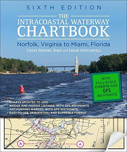 Intracoastal Waterway Chartbook Norfolk to Miami, 6th Edition (Intracoastal Waterway Chartbook: Norfolk, Virginia to Miami, Florida) -  Kettlewell, John, Spiral-bound
