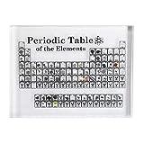 Abilieauty Chemie Periodensystem Element Tabelle Display pädagogische Anzeigetafel mit Elementen...
