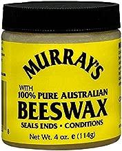 Murray's 100% Pure Australian Beeswax, 4 oz (6 Pack)