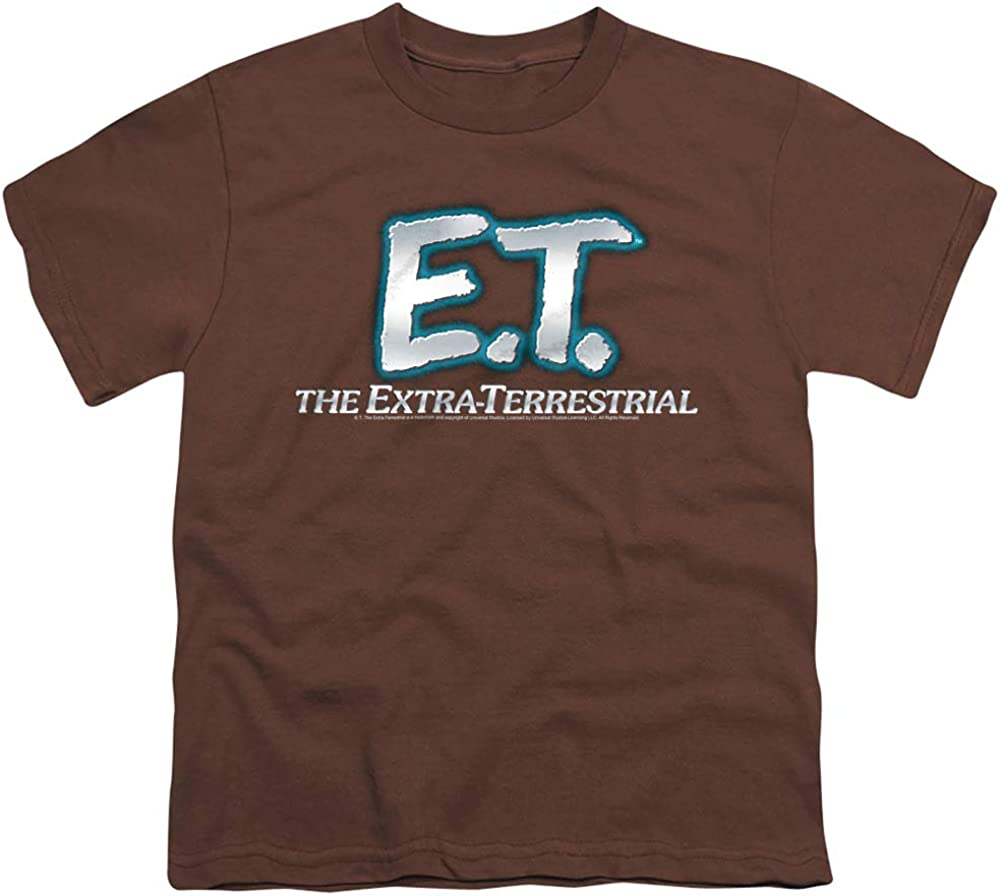 E.T. The Extra-Terrestrial Logo Unisex Youth T Shirt